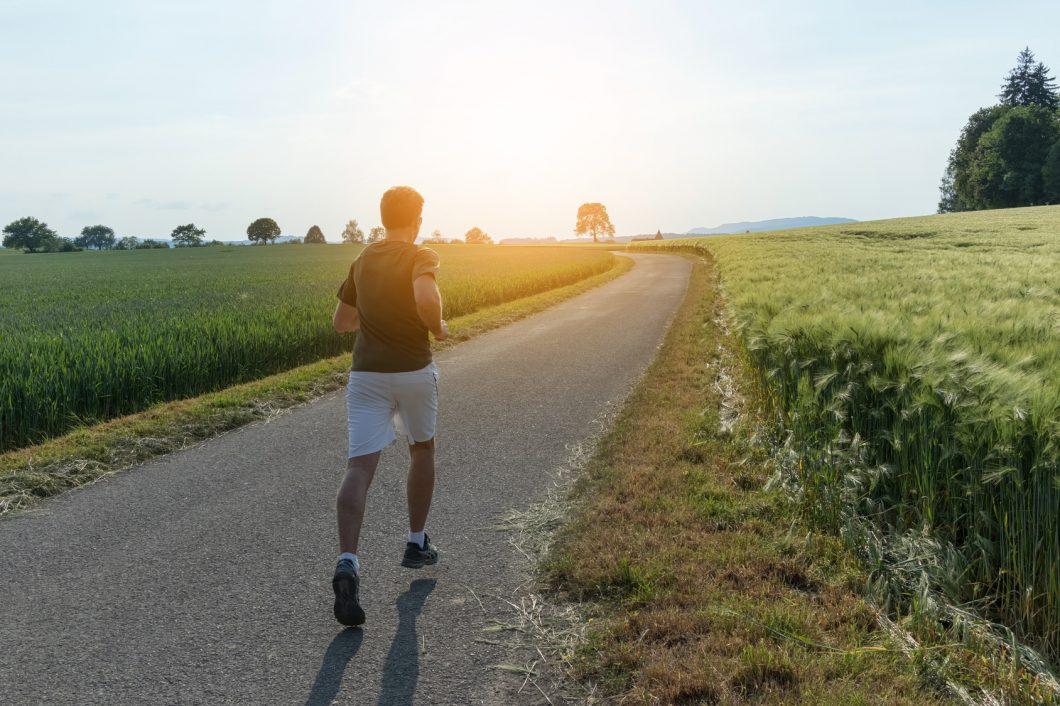 Joggen und Laufen